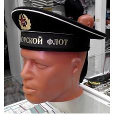 Бескозырка ВМФ СССР чёрная