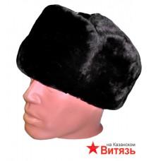Шапка-ушанка зимняя ВМФ (морская) офицерская, нат. мех