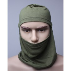 "Шлем-маска ""Балаклава"" (оливковая) хлопок"