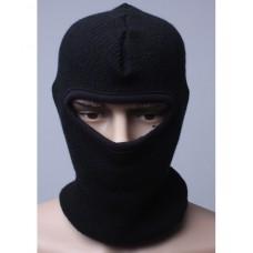 "Шлем-маска ""Балаклава"" (черная) зимняя"