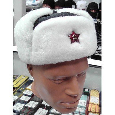 Шапка-ушанка комначсостава РККА обр. 1940 г.