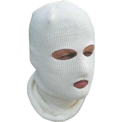 "Шлем-маска ""Очки"", белая"