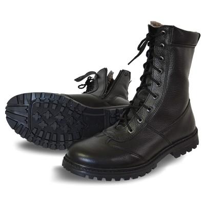 Ботинки зимние на молнии «Ратник» ХСН 592-1 (натуральный мех)