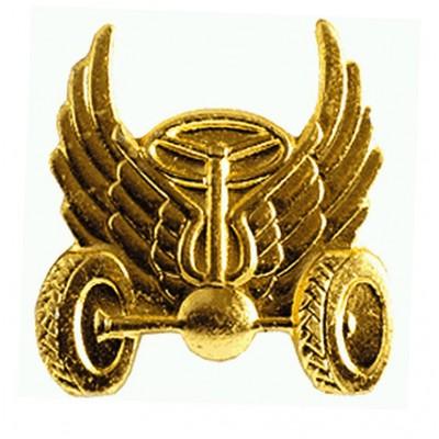 Эмблема Автомобильные войска нового образца золото