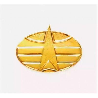 Эмблема ВКО нов/обр. золото