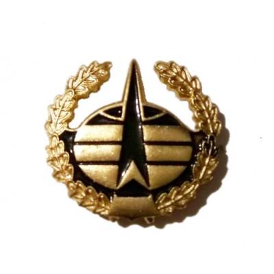 Эмблема ВКО нов.обр. золото эмаль (неуставная)