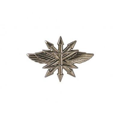 Эмблема Войска связи нового образца полевая