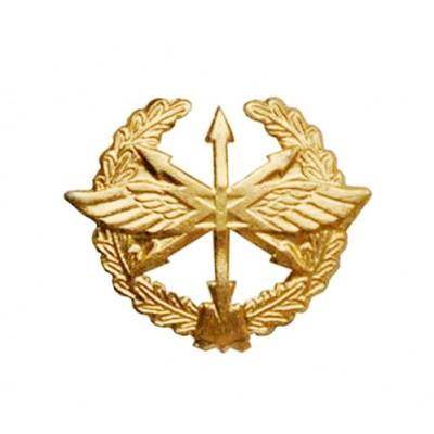 Эмблема Войска связи старого образца золото