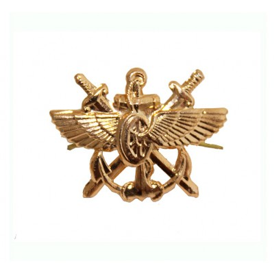 Эмблема ВОСО золото