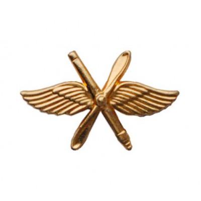 Эмблема ВВС нового образца золото
