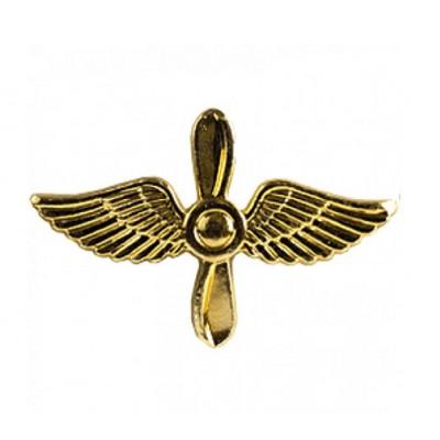 Эмблема ВВС Авиация нового образца золото