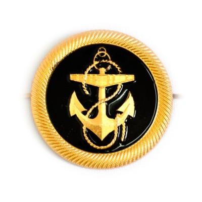 Кокарда Курсантов Морского флота овал с якорем