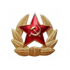 Кокарда СА СССР солдатская золото
