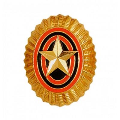 Кокарда ВС малая старого образца золото