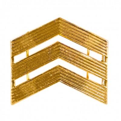 Лычка сержант золото