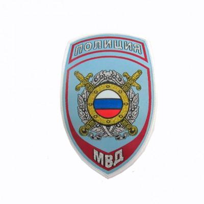 Шеврон вышитый Полиция МВД ООП, голубой