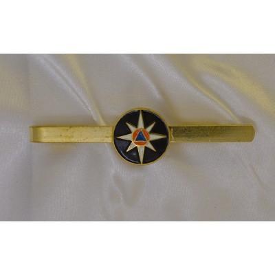 Заколка на галстук с эмблемой МЧС