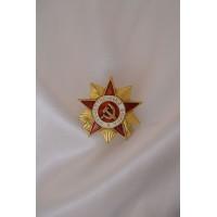 Нагрудный знак Миниатюра ордена Отечественной Войны