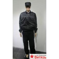 """Костюм охранника мужской """"Контрол"""" чёрный"""