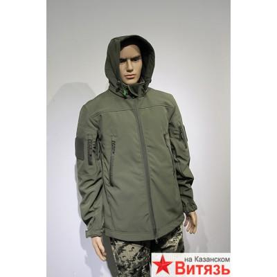 Куртка софтшелл цвет олива