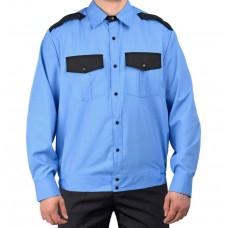 Рубашка Охрана на резинке, длинный рукав