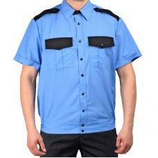 Рубашка Охрана на резинке, кор. рукав