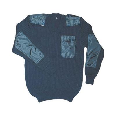 Пуловер синий